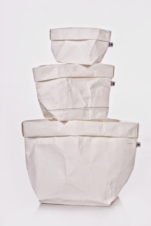+ PACK whitefamily // sacks and lamps // Material: washable cellulosa fibre